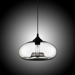 Modern Glass Pendant Light  Hand Blown Colorful Bell Shaded  with 1 Light Plain Color Dining Room Lighting Ideas Living Room Bedroom Ceiling Lights