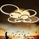 LED Flush Mounts Modern  Ceiling Light Acrylic Lamp Energy Saving FX6255-8