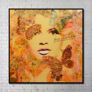 Contemporary Art Portrait Wall Painting without Frame 40'*40' B