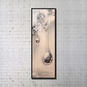 Contemporary Wall Art Water Drop Abstract Print without Frame 20'*60' A