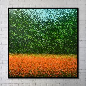 Modern Wall Art Abstract Wall Print without Frame 40'*40' F