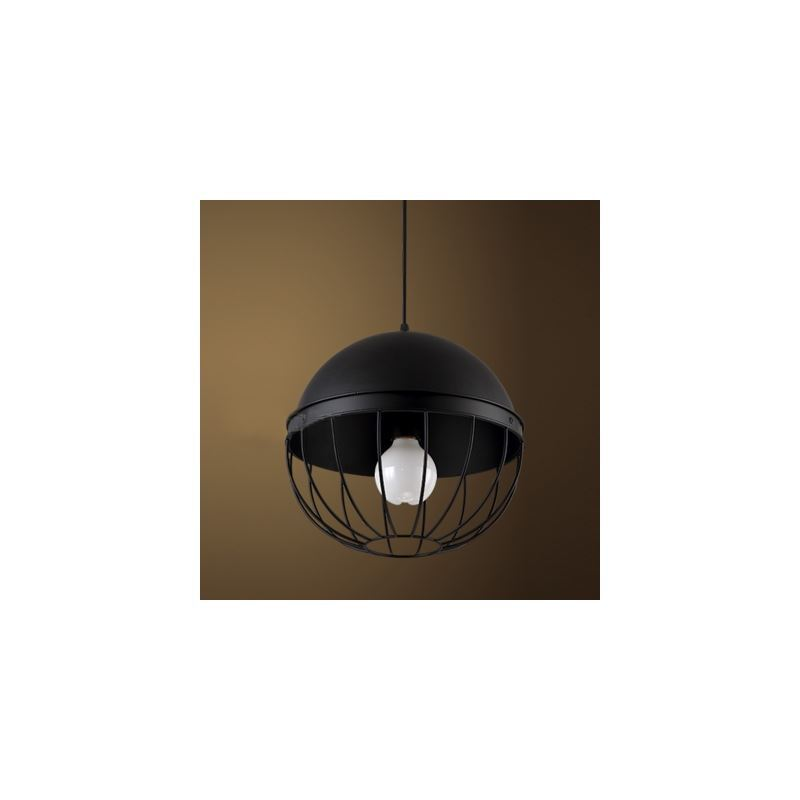 12'' Wide Black Iron Pendant 1 Light Industrial Pendant - from $138.99