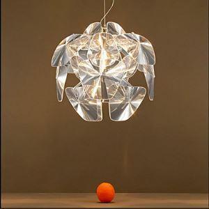 The Living Room Bedroom Study Hope Apple Acrylic Chandelier Energy Saving
