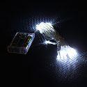 3M 30-LED White Light 2-Mode LED String Fairy Lamp for Christmas (3xAA) Energy Saving