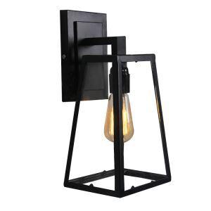 American Village Creative Sconce Iron Triangle Single Head Wall Light