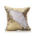 Mermaid Pillow Cover Champagne/Ice Change Color Sequins Cushion Inverted Flip Sequin Pillow Cover