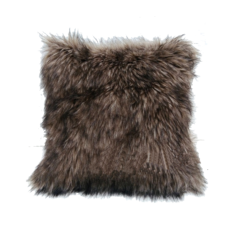 Luxury Fur Pillow Luxury Pillow Cover Office Bedding Faux