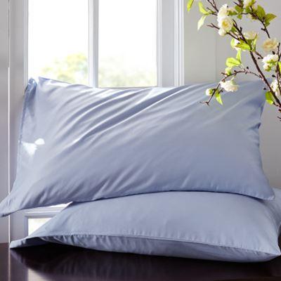 60s Satin Cotton Single Cotton Pillowcase Solid Color