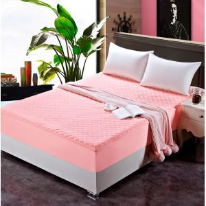 Cotton Mattress Clip Cotton Thickened Mattress Cover Mattress Protection Cover 200*220cm