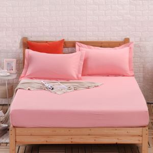 Fashion Simple Solid Color Mattress Contton Mattress Protection Cover 180*200cm