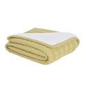 Plus Plush Twisted Pattern Knitting Aircraft Blanket Sofa Covered Blanket 120*180cm