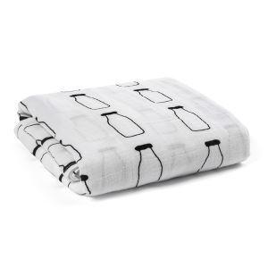 Homelava Self-designed Baby Cotton Yarn Towel Milk Bottle Pattern 120*120cm