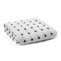 Homelava Self-designed Baby Cotton Yarn Towel Cross Pattern 120*120cm