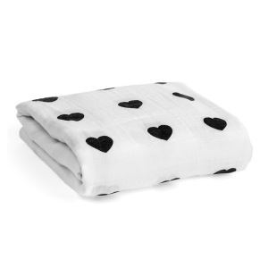 Homelava Self-designed Baby Cotton Yarn Towel Heart Pattern 120*120cm