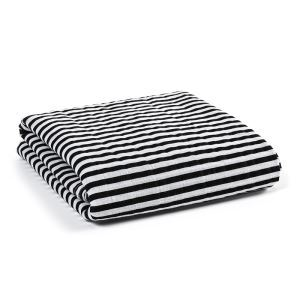 Homelava Self-designed Baby Cotton Yarn Towel Stripe Pattern 120*120cm