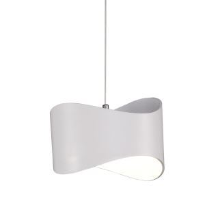 Modern Simple Metal + Acrylic Baking Paint LED Ceiling Light Natural Light 4000K Energy Saving