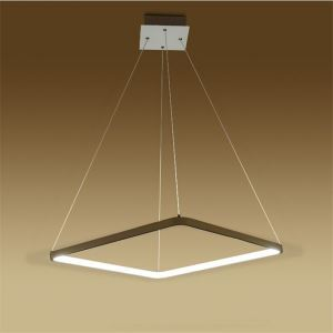 Modern Simple Metal + Acrylic White / Warm White Light LED Patch Ceiling Light Energy Saving
