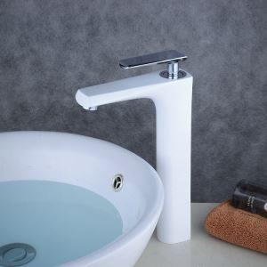 Modern Simple Bathroom Products Single Hole Single Handle Sink Faucet