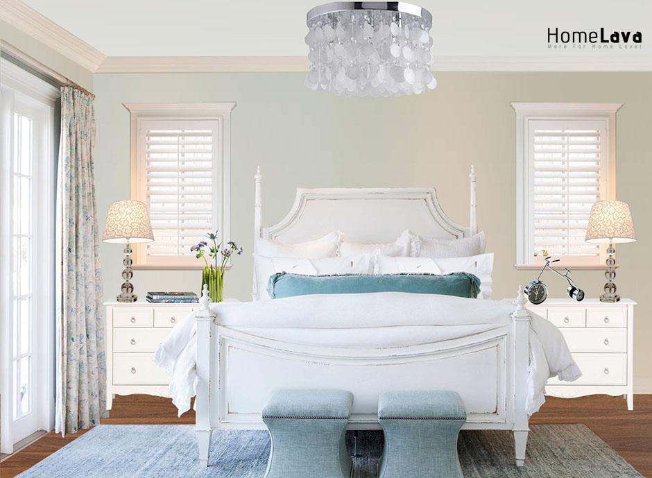 Beach style bedroom idea