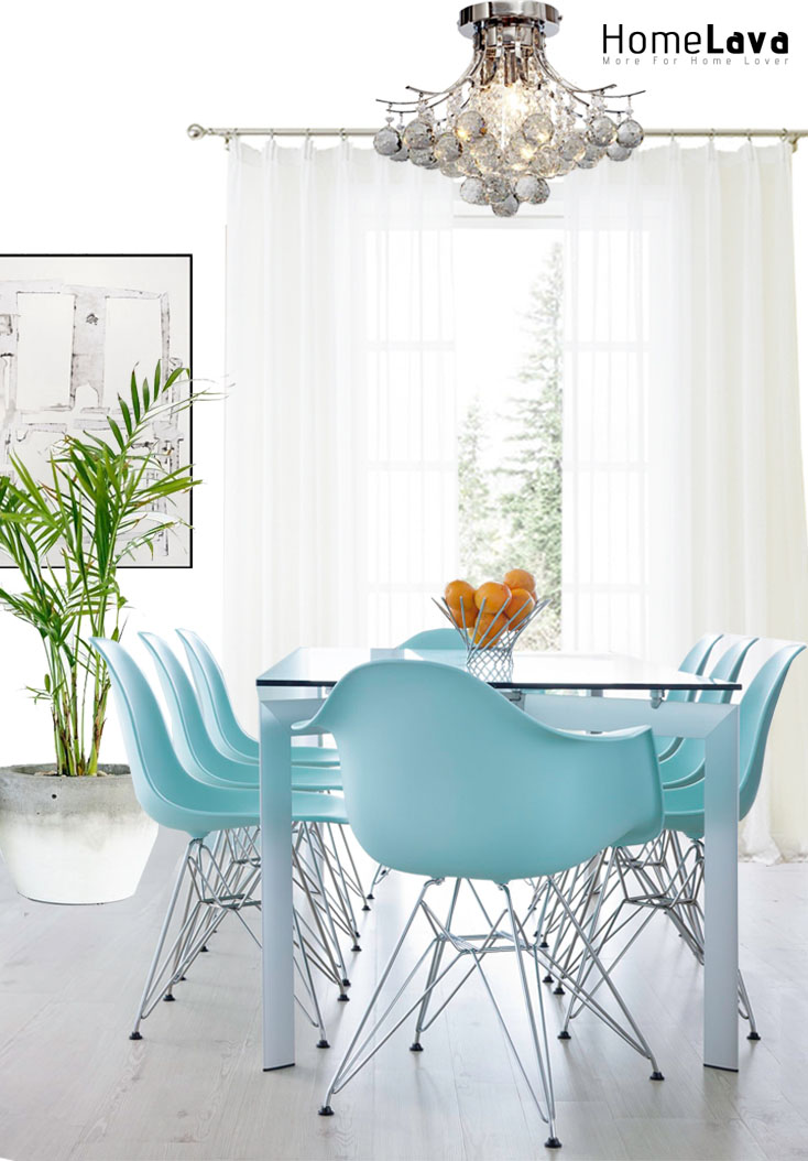 Inspiration for a modern dining room