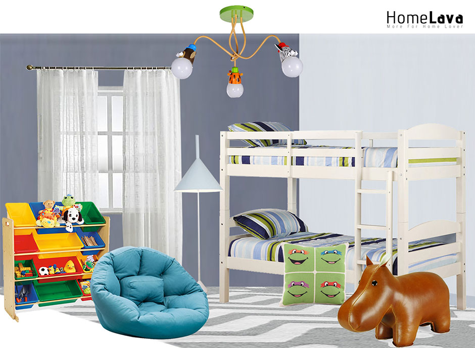 Kids Bedroom Modern style