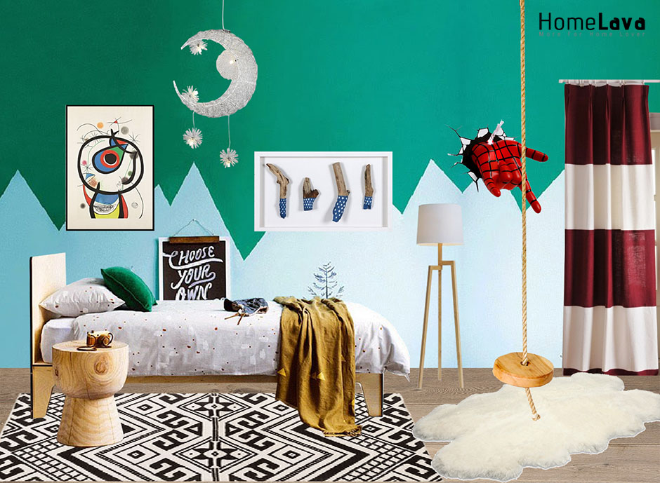 Colorful childrens room ideas colorfull walls