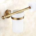 European Retro Style Bathroom Products Bathroom Accessories Copper Art Toilet Brush Holder