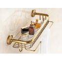 European Retro Style Bathroom Products Bathroom Accessories Copper Art Bath Shelf