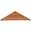European Simple Style Bathroom Products Bathroom Accessories Wood Art Triangle Bath Shelf