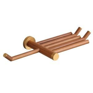 European Simple Style Bathroom Products Bathroom Accessories Wood Art Toilet Roll Holders