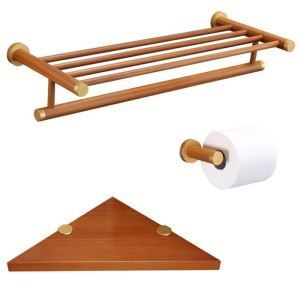 European Simple Style Bathroom Products Bathroom Sets Towel Rack Toilet Roll Holders Triangle Bath Shelf