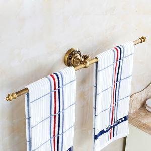 European Retro Style Bathroom Products Bathroom Accessories Copper Art Towel Bar