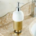 European Retro Style Bathroom Products Bathroom Accessories Copper Art Sitting Hand Sanitizer Cup Holder