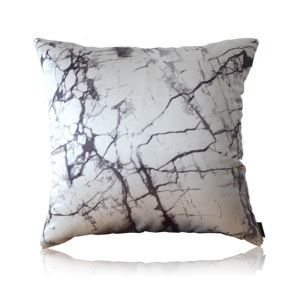 Modern Ink Blooming Gradient Marble Pattern Satin Printing Pillow Cover
