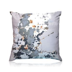 Modern Special Nature Texture Pattern Satin Printing Pillow Cover
