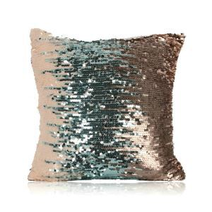 Mermaid Color Mixing Sequins Beads Gradient Fashion Leisure Sofa Car Pillow Cover