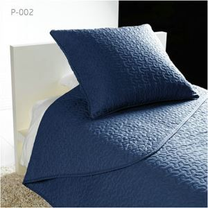 Modern Simple Washed Cotton Embroidery Quilt Bedspread Summer Quilt Quilted Blanket 145*195cm Three Colors