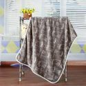 Modern Flannel Cartoon Cat Pattern Baby Blanket Children Bath Towel Summer Blanket 3 Colors
