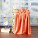 Modern Solid Color Mesh Plaid Flannel Beibei Cashmere Summer Blanket Siesta Blanket 150*200cm 11 Colors