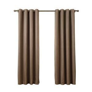 Modern Simple Khaki Blackout Curtains Finished Curtains 7 Sizes Available