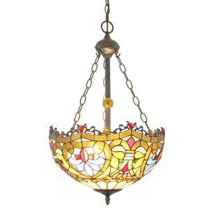 Wonderful Pattern Pendant Light European Tiffany Chandelier Bedroom Living Room Dining Room Kitchen Light