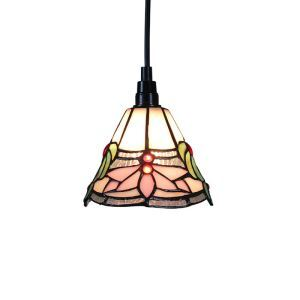 6inch European Pastoral Retro Style Pendant Light Lotus Pattern Shade Bedroom Living Room Dining Room Kitchen Lights