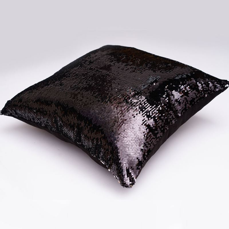 In Stock Mermaid Pillow Cover Silver Coffee Change Color
