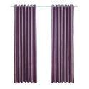European Style Purple Pearl Velvet Blackout Curtains Advanced Customization