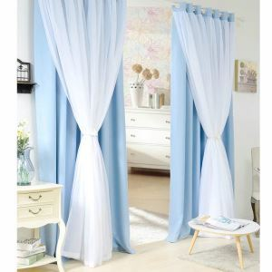 Countryside Double Layer Curtains Blackout Curtains Ready Made Curtains Advanced Customization