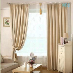 Nordic Modern Autumn and Winter Thickening Warm Black Silk Chenille Curtains Super Thick