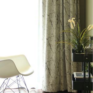 American Style Chenille Thicken Curtains Advanced Custom