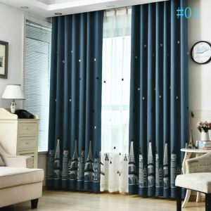 American Children's Room Curtains New Arrival Embroidered Curtains Advanced Custom