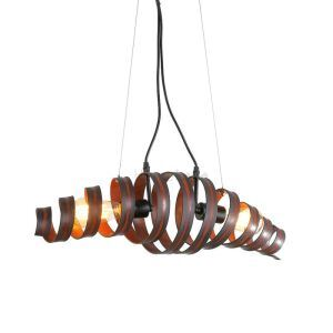 Retro Bar Iron Lamp Modern Minimalist Industrial Style Chandelier Ceiling Lights(Hold The Moment)
