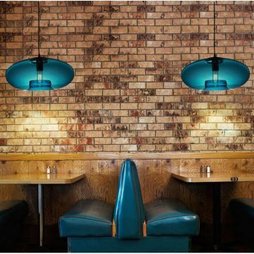 Ceiling Lights Modern Contemporary Blue Gl Pendant Light Lighting Fixture Dining Room Living Bedroom